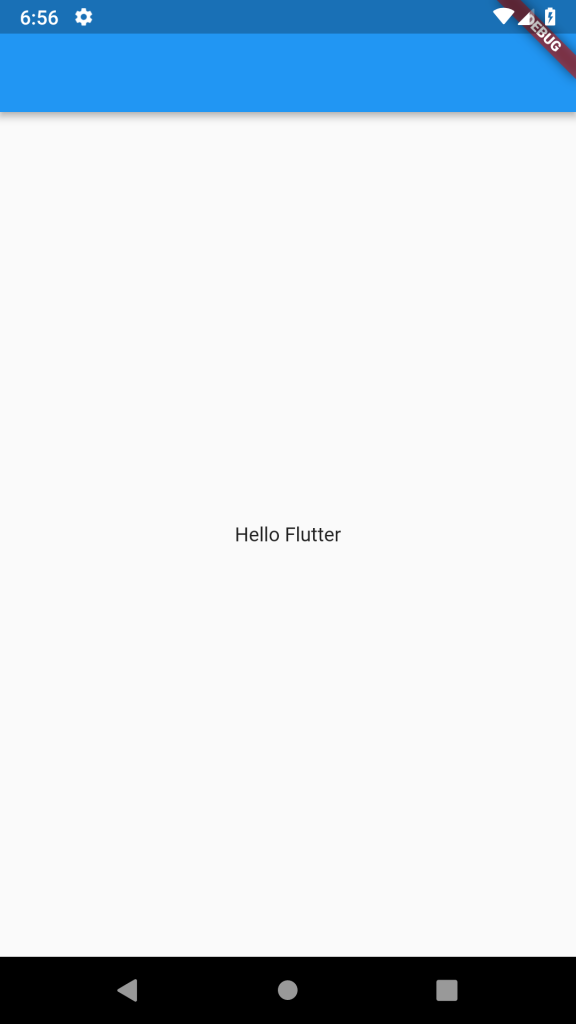 flutter text center