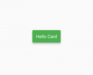 flutter card custom