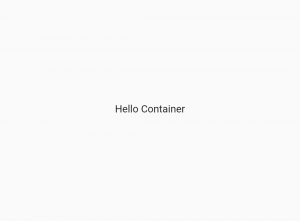 flutter-container